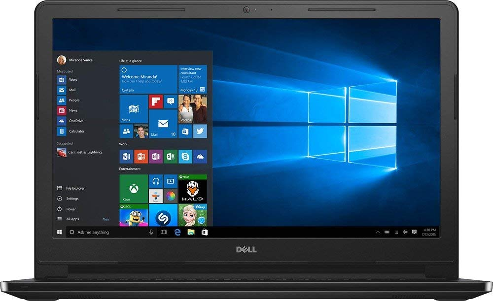"Dell Inspiron 15.6"" Touchscreen HD I3558-5501BLK"